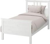 Ikea Хемнэс 200x90 (белый, основание Леирсунд) 592.108.07