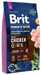 Brit (8 кг) Premium by Nature Junior S