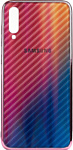 EXPERTS Aurora Glass для Samsung Galaxy A70 с LOGO (розовый)