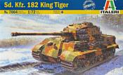 Italeri 7004 Немецкий тяжелый танк Sd. Kfz. 182 King Tiger