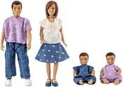 Lundby Семья с двумя малышами 60806300