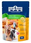 Клуб 4 Лапы Для собак малых и средних пород - влажный (0.1 кг) 1 шт.