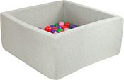 Misioo 90x90x40 200 шаров (светло-серый)