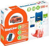 StarLine S96 v2 2CAN+4LIN 2SIM GSM GPS