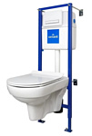 Cersanit Link Pro с City New Clean On S-SET-CITYC-LPRO-S-DL-WG-w