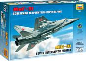 Звезда Советский истребитель-перехватчик МиГ-31