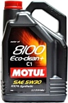 Motul 8100 Eco-clean+ 5W30 C1 5л