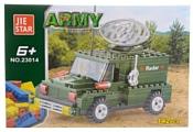 Jie Star Army 23014 Военный джип с радаром