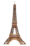 Чудо-Дерево Эйфелева башня (цветная)
