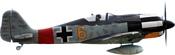 FMS Focke-Wulf 190 Yellow 6 (FMS045P-Y6)
