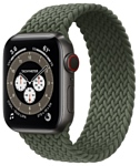 Apple Watch Edition Series 6 GPS + Cellular 40mm Titanium Case with Braided Solo Loop