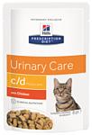 Hill's (0.085 кг) 12 шт. Prescription Diet C/D Multicare Feline with Chicken wet