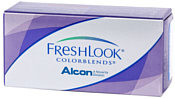 Alcon FreshLook ColorBlends -0.5 дптр 8.6 mm (зеленый)