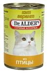 Dr. Alder КЭТ ГАРАНТ птица кусочки в желе Для домашних кошек (0.4 кг) 24 шт.