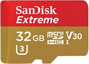 Sandisk Extreme microSDHC UHS-I 32GB (SDSQXAF-032G-GN6AA)