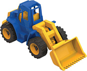 Нордпласт Трактор Ангара с грейдером 140 (синий)