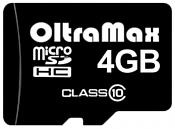 OltraMax microSDHC Class 10 4GB