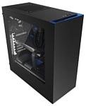NZXT S340 Black/blue