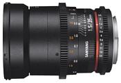 Samyang 35mm T1.5 ED AS UMC VDSLR II Nikon F