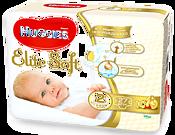 Huggies Elite Soft 2 (3-6 кг) 27 шт.