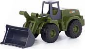 Полесье Агат трактор-погрузчик военный РБ 49063