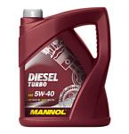 Mannol DIESEL TURBO 5W-40 25л