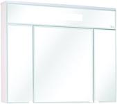 Onika Шкаф с зеркалом Сигма 90.01 (белый) (209014)
