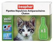 Beaphar Капли Био от блох, клещей и комаров для котят 3 пипетки