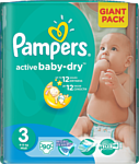 Pampers Active Baby-Dry 3 Midi (90 шт.)