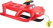 Prosperplast Zigi-Zet Control с лыжей (красный)
