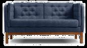 Divan Айверс Textile (синий)