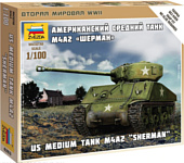 "Звезда Американский танк ""Шерман"""