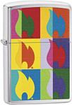 Zippo Abstract Flame Design 29623
