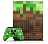 Microsoft Xbox One S 1Тб Minecraft Limited Edition
