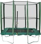 Мастерская Волшебного Мира Батут прямоугольный 215х150 см с защитной сеткой