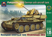 ARK models AK 35010 Немецкий зенитный танк Флакпанцер 38(t)