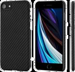 Pitaka MagEZ для iPhone SE 2020 (twill, черный/серый)