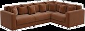 Mebelico Мэдисон Long 59199 (рогожка, коричневый)