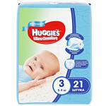 HUGGIES Ultra Comfort 3 (5-9 кг) для мальчиков 21 шт