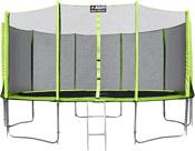 Alpin 4.65 м с защитной сеткой и лестницей
