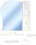 Белпласт Набор мебели для ванной белый правый (с341-2830)