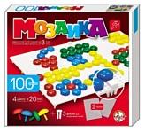 Десятое королевство Пластмассовая мозаика для детей 100 элементов (00979)