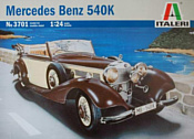 Italeri 3701 Автомобиль Mercedes-Benz 540K