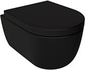 Bocchi V-Tondo Rimless (черный матовый) 1417-004-0129