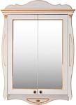 Atoll Шкаф с зеркалом Ривьера (dorato, патина золото)