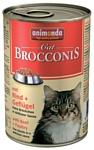 Animonda Brocconis Cat для кошек с говядиной и мясом домашней птицы (0.4 кг) 6 шт.
