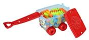 Pilsan Trolley Blocks 03-256 80 деталей