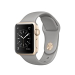 Apple Watch Series 2 38mm Gold with Concrete Sport Band (MNP22)