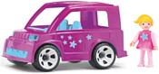 Efko Городской розовый автомобиль с водителем 33220EF-CH