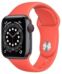 Apple Watch Series 6 GPS + Cellular 40mm Aluminum Case with Sport Band